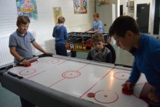 Gamekamp airhockey