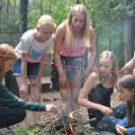 Bushcraft kamp