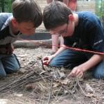 Bushcraft survivalkamp in nederland