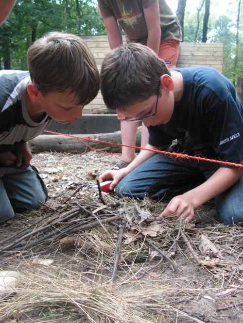 Bushcraft survivalkamp (16)