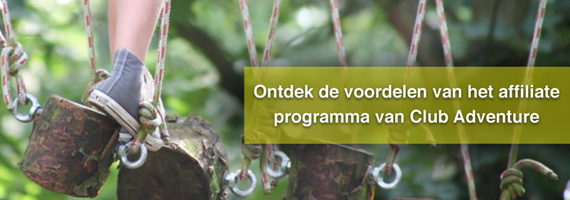 Affiliate partner programma Club Adventure