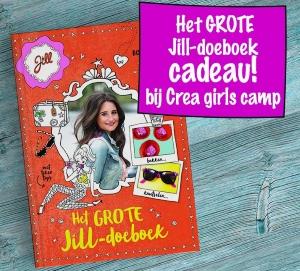 Jill boek cadeau